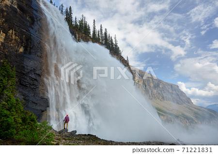 Waterfall in Canada 71221831