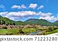 일본에서 가장 아름다운 마을 세 백선 마을 시정촌 매력도 랭킹 최하위 오카야마 현 신조 촌 풍경 71223280