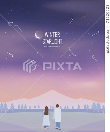冬季背景圖07 71226325