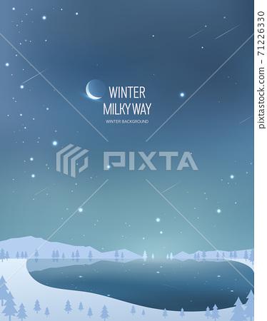 冬季背景圖03 71226330