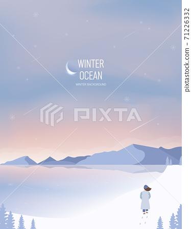 冬季背景圖02 71226332