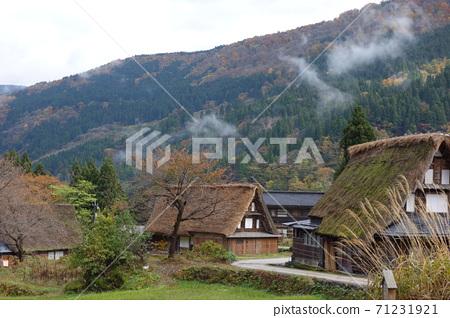 Gokayama Gassho Village Deepening Autumn 71231921