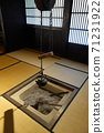 The hearth of an old private house 71231922