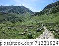 Mountain trail leading to the summit of Tateyama 71231924