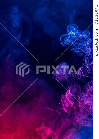 煙 藍色 紅色 背景 萬聖節 smoke background Halloween けむり バック 71232041