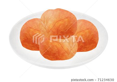 Salted plum 71234630