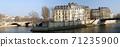 Panorama view of Ile Saint Louis Paris 71235900