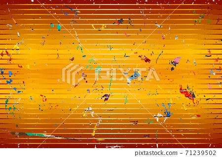 Orange background with color stains 71239502