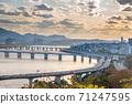 서울 한강 풍경 71247595