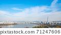 서울 한강 풍경 71247606
