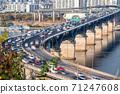 서울 한강 풍경 71247608