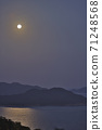 moon over the Silverstrand Beach hong kong 31 Oct 2020 71248568
