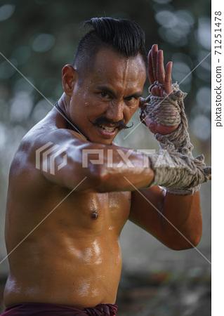Martial arts of Muay Thai 71251478