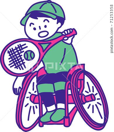 輪椅網球 71253358