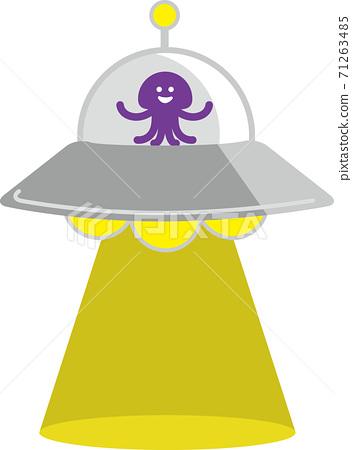 被外星人乘坐的不明飛行物(UFO)帶走(綁架) 71263485