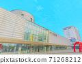 [動漫風格]函館站北海道函館風光 71268212