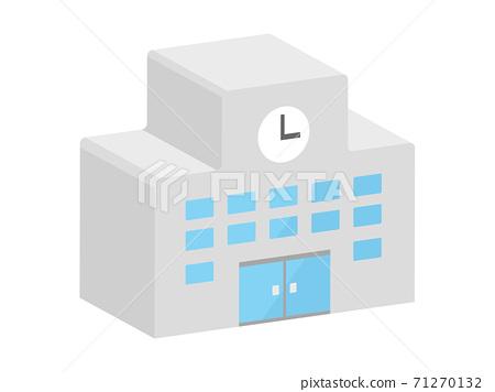 學校三維圖標說明 71270132