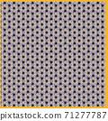 대마의 잎 모양의 보자기 이미지 일러스트 배경 소재, 71277787