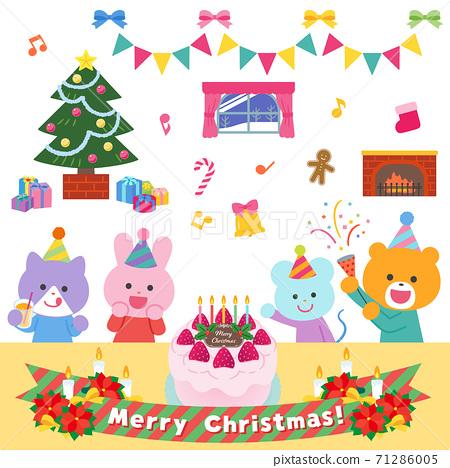 動物/聖誕晚會套裝 71286005