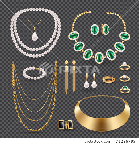 Jewelry Accessories  Transparent Set 71286795