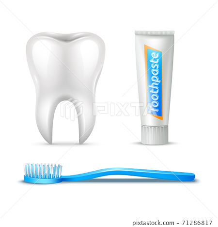 Tooth Brush And Paste 71286817