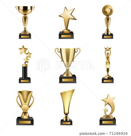 Trophy Awards Realistic Set 71286926