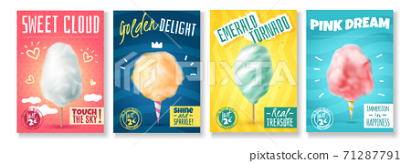 Cotton Sugar Posters Set 71287791