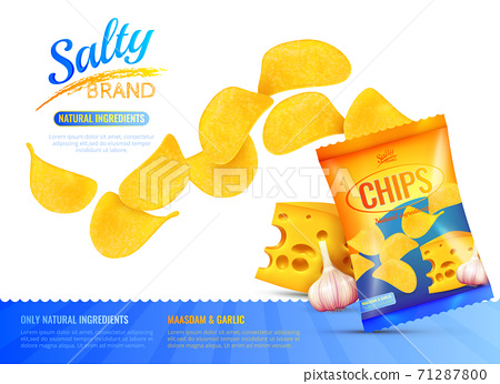 Salty Snacks Ad Poster 71287800