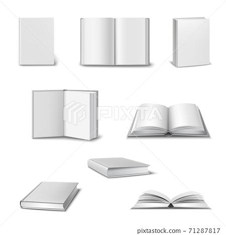 Realistic Book Set 71287817