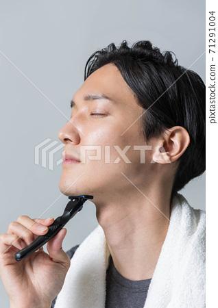 男人的美麗形象[剃須] 71291004