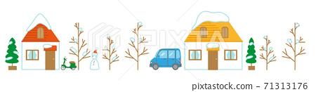 冬天的城市 71313176