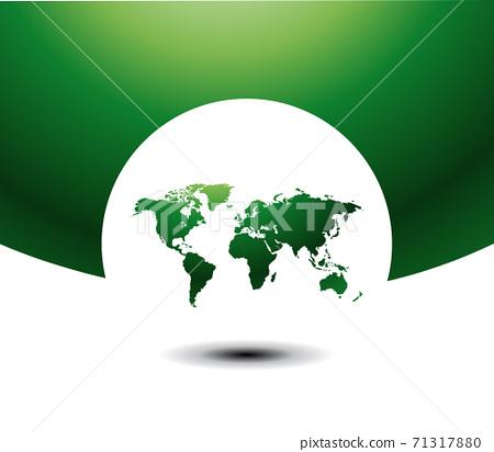 World map vector illustration 71317880