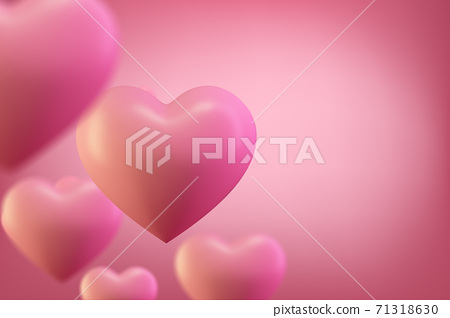 Love heart background. Valentine background. Romantic wedding background,valentines day concept. 71318630