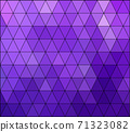 Purple Grid Mosaic Background, Creative Design Templates 71323082