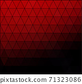 Red Grid Mosaic Background, Creative Design Templates 71323086