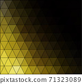 Yellow Grid Mosaic Background, Creative Design Templates 71323089