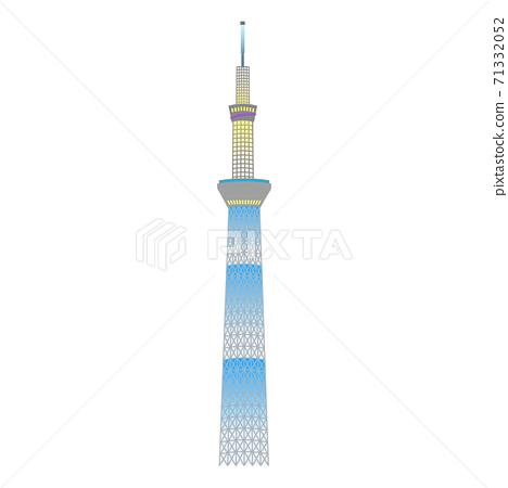 東京著名景點(照亮了天空樹) 71332052