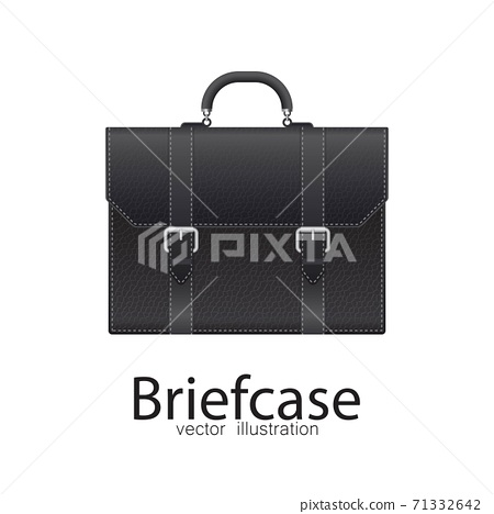 Business briefcase vector illustration isolated on white background. 71332642