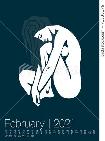Vector Erotic Calendar 71336176