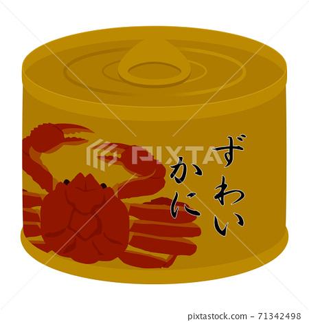 螃蟹罐頭 71342498