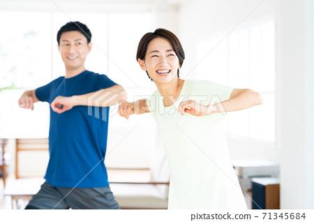 女性健身瑜伽生活生活方式休閒 71345684