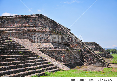 蒂奧蒂瓦坎遺址在墨西哥 71367631