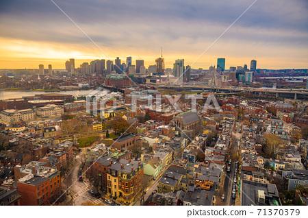 Boston, Massachusetts, USA Skyline 71370379