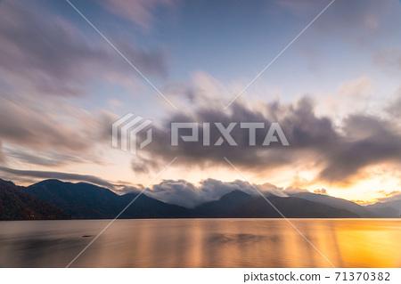 Lake Chuzenji in Nikko, Japan 71370382