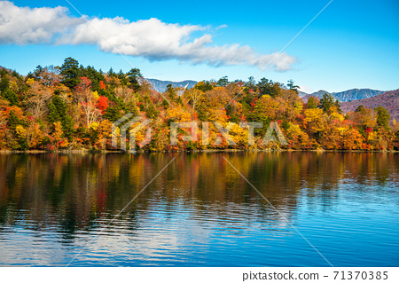 Lake Chuzenji, Nikko, Japan 71370385