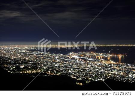마야 掬星 대에서 보는 고베의 야경 [2020 년] 71378973