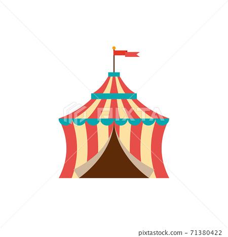 Circus tent vector illustration 71380422