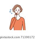 30多歲和40多歲的女性缺乏睡眠 71390172