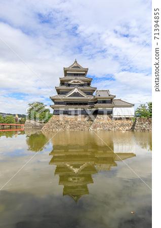 著名的城堡松本城堡 71394855
