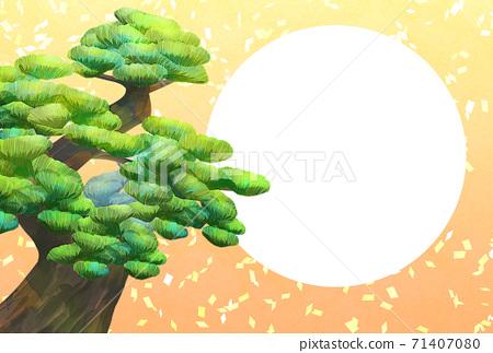 소나무 사진 프레임, 엽서 사이즈, 연하장 용 71407080
